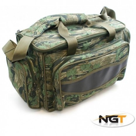 NGT Green Insulated Carryall Mimetico