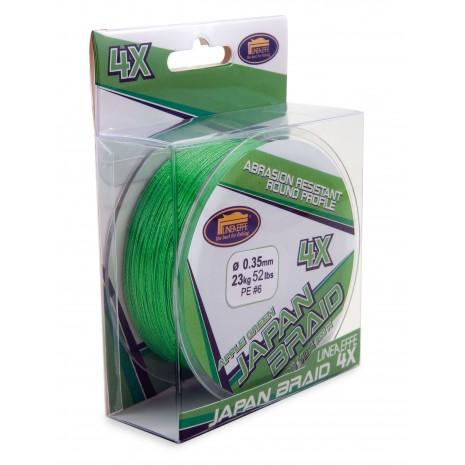 Lineaeffe Japan Braid 4X Verde Mela